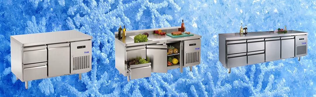Kühl/Tiefkühltische