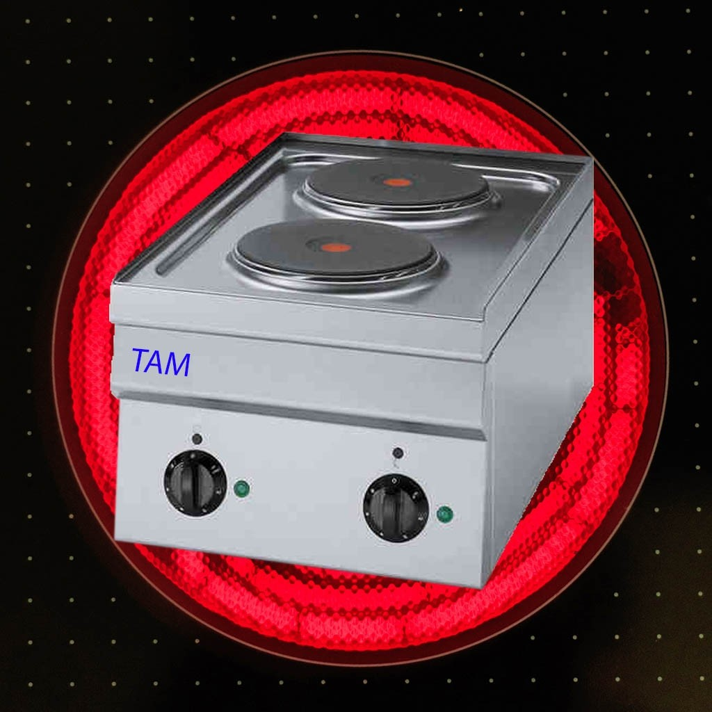 2 Platten Elektroherd TAM-SE35