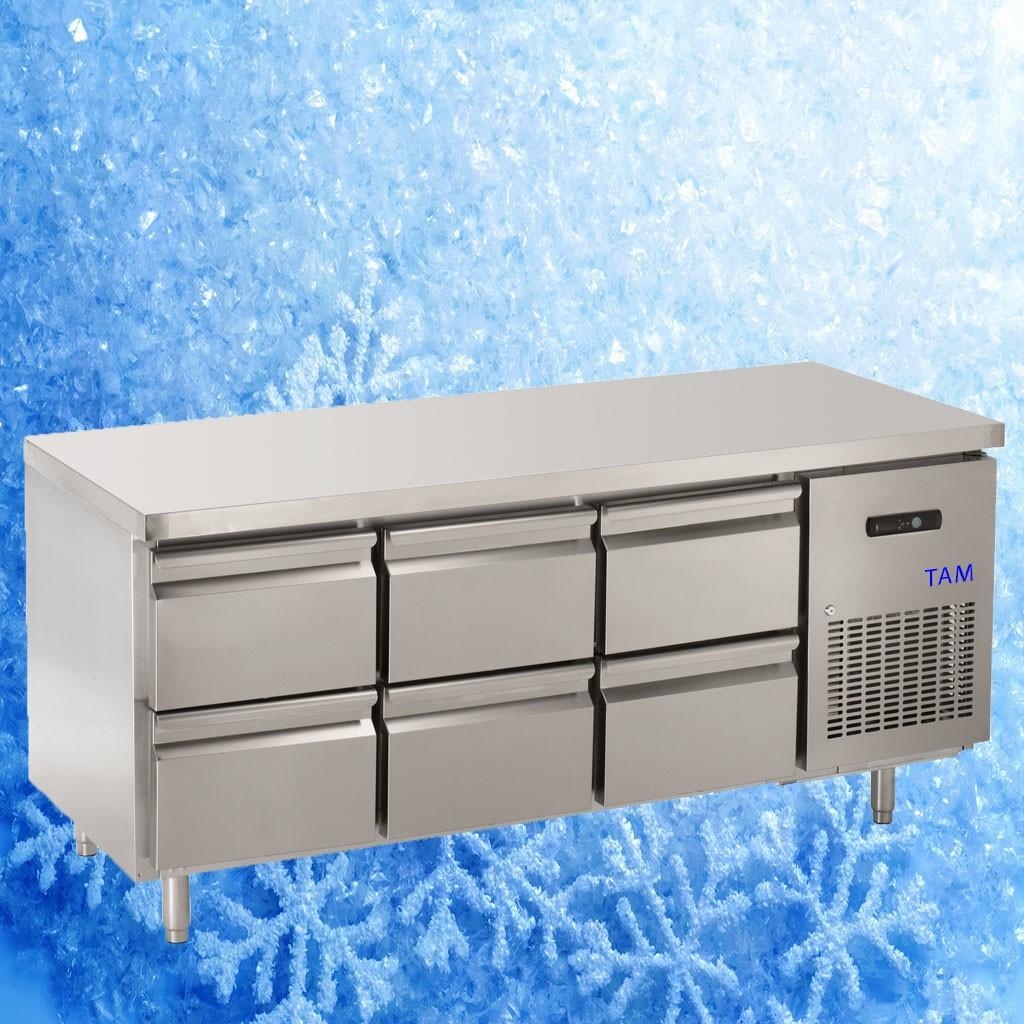 Kühltisch TAM-3/6-700LUX