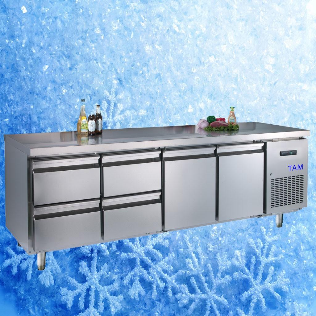Kühltisch TAM-4/4-700LUX