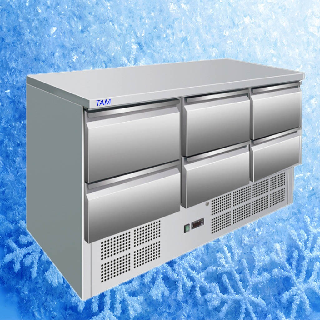 Kühltisch TAM-6-EASY