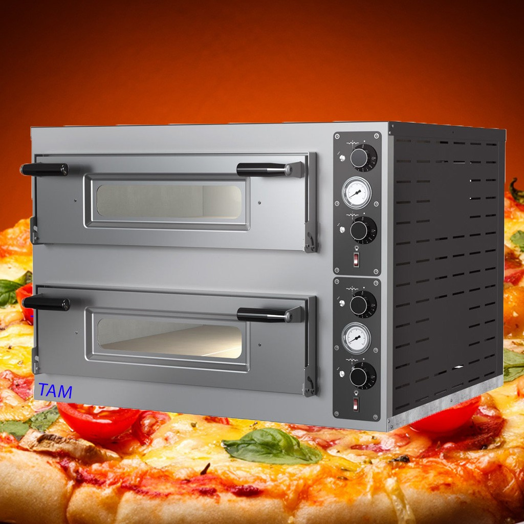 Pizzaofen TAM-PO44 -  2 Kammer 660x660