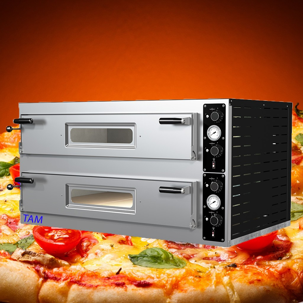 Pizzaofen TAM-PO99 -  2 Kammer 990x990