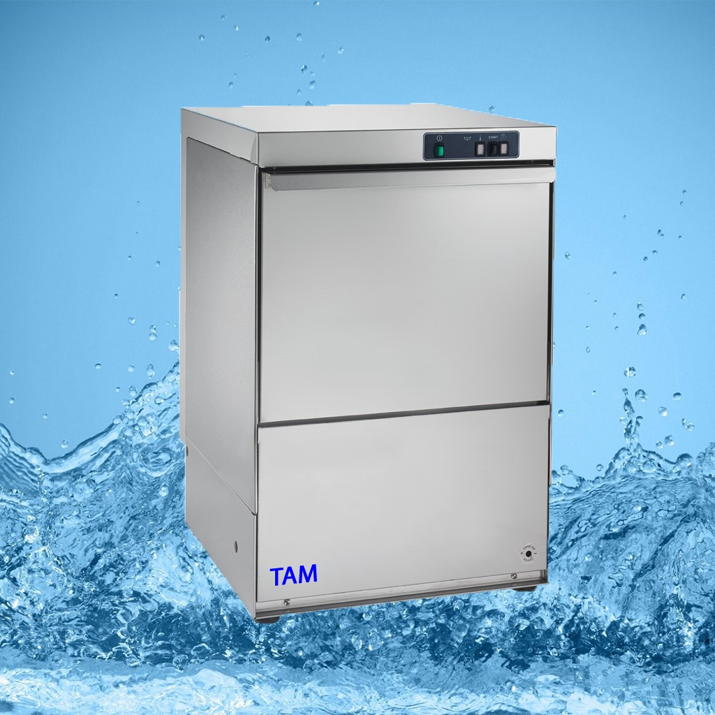 Gläserspülmaschine TAM-400-ECO - Korb 400x400