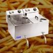 Elektro-Friteuse mit Ablasshahn TAM-FR1010