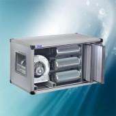 Abluftreinigungsanlage mit Ventilator TAM-ABVA3000