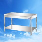 Arbeitstisch mit Boden 800x600x850 TAM-ATB086