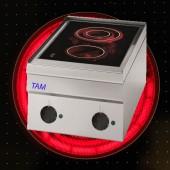 2 Platten Elektroherd mit Cerankochfeld TAM-SEC35