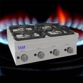 4 Flammen Gasherd TAM-SG70