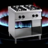 4 Flammen Gasherd TAM-G4-ECO