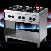 6 Flammen Gasherd TAM-G6-LUX