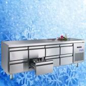 Kühltisch TAM-4/8-700LUX