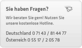 Unsere Hotline