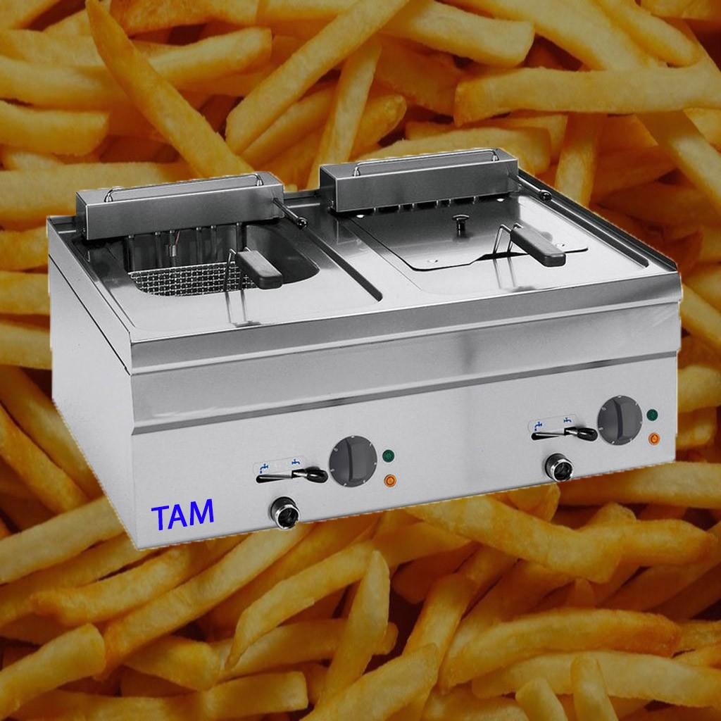 Elektrofriteuse 2 Becken TAM-FRE2