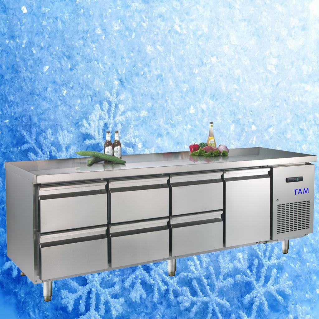 Kühltisch TAM-4/6-700LUX