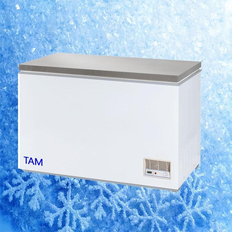 Tiefkühltruhe mit Edelstahldeckel 1220x680x875 - TAM-TKT12