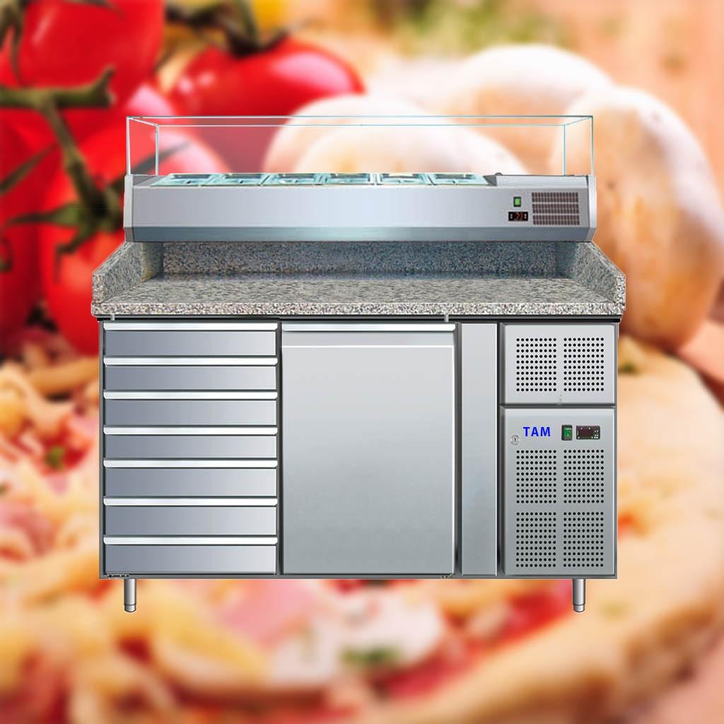 Pizzatisch TAM-PT1515-ECO