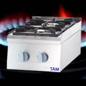 Premium 2 Flammen Gasherd als Tischgerät TAM-GT2