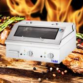 Premium Elektro Griddleplatte mit Deckel  TAM-EGDGT8
