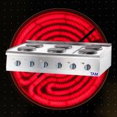 Premium 6 Platten Elektroherd als Tischgerät TAM-ET6