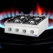 Premium 4 Flammen Gasherd als Tischgerät TAM-GT4